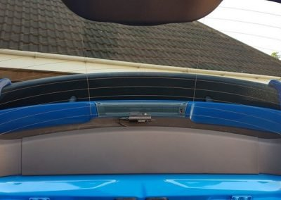 Ford focus rs edition blackvue witness camera
