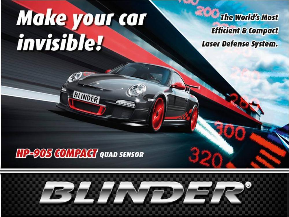 Blinder Laser Detection