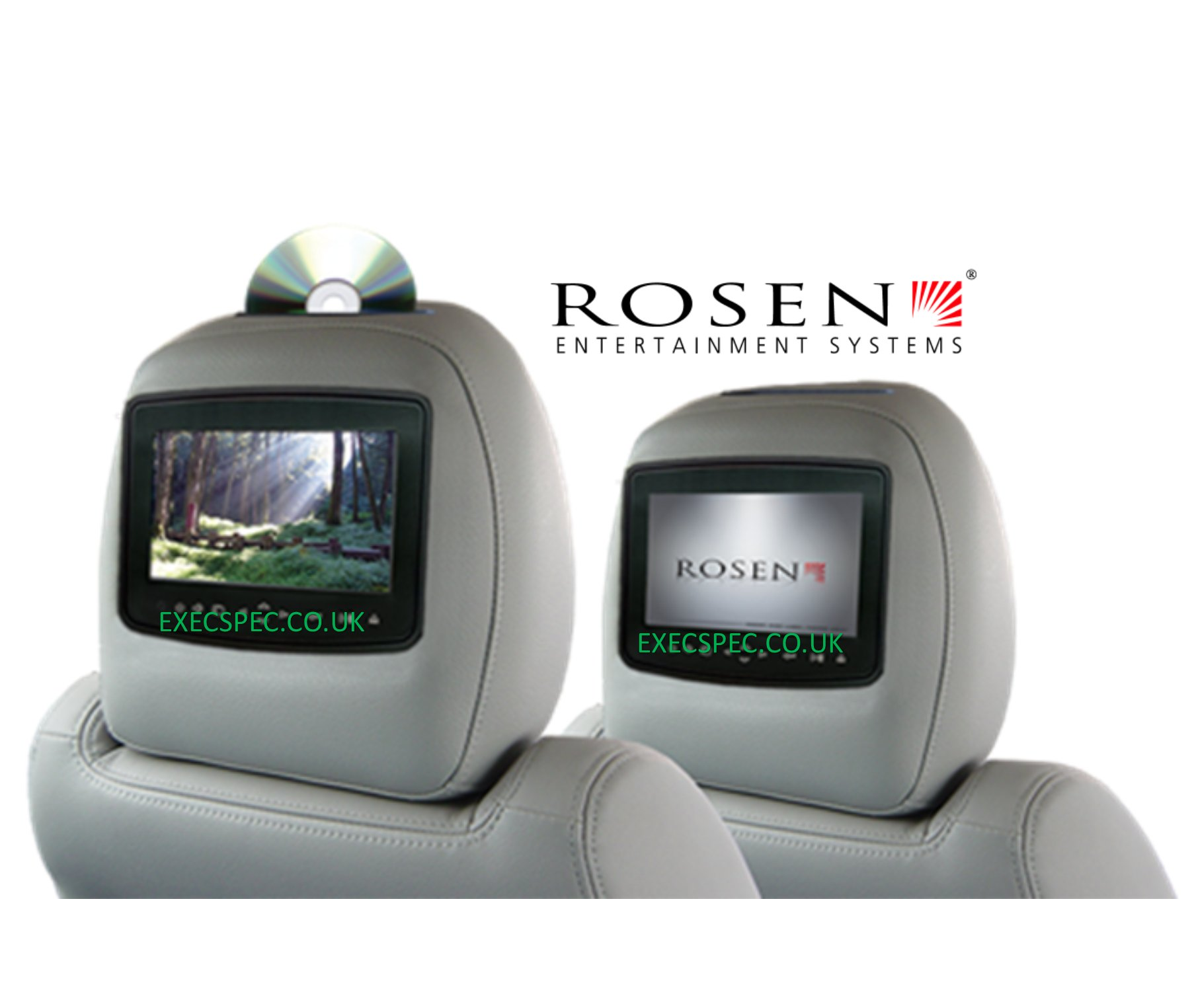 Multimedia/Headrest screens/roof monitors
