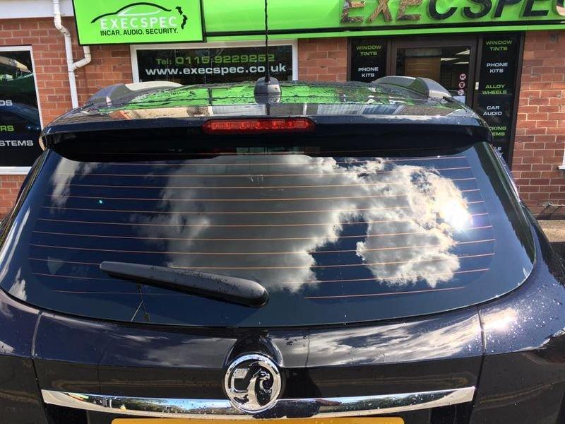 Vauxhall tints nottingham derby