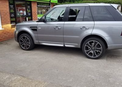 Range Rover tints Nottingham Derby
