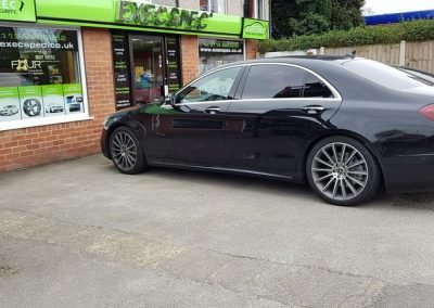 Mercedes tints Nottingham Derby