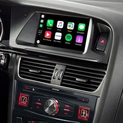 Best Car Audio nottingham Audi Alpine Audio Upgrade A4/A5