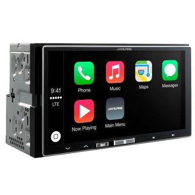 Alpine iLX-700 Apple CarPlay Headunit best car audio nottingham derby