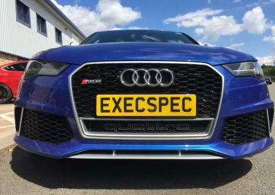 Audi RS6 IN FOR ADDITIONAL SECURITY