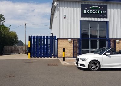 Audi A3 in for additional security