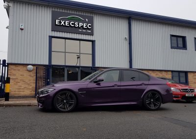 BMW M3 In for a sincere security upgrade