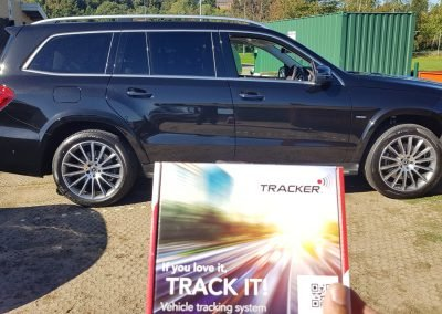 Mercedes GLE having the Tracker Locate fitted