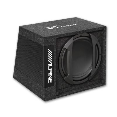 Alpine SWD-355 best car audio nottingham derby best subwoofer nottingham derby