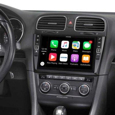 """Alpine i902D-G6 9"""" Media Station designed for the VW Golf MK6 best car audio Nottingham derby"""