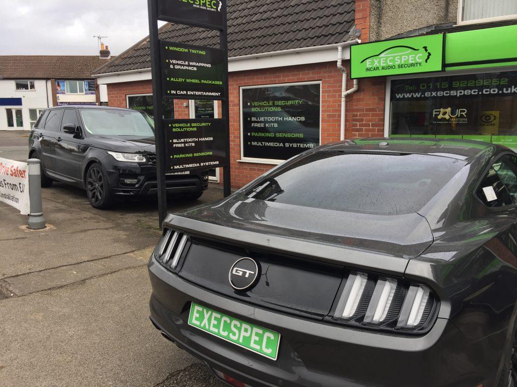 Ford Mustang Window Tints Range Rover Sport Windoe Tints Best Window Tinting Nottingham Derby