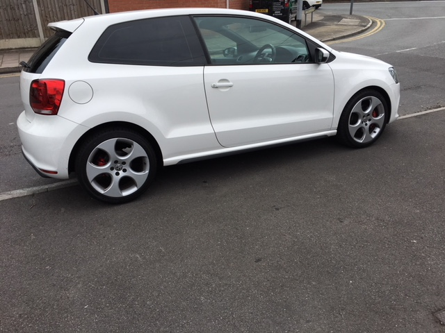 VW Polo window tints nottingham